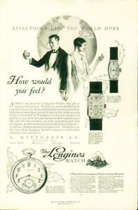 Advertising-A-Wittnauer-Co-The-Longines-Watch-Gold-Filled-14Kt-18Kt-1926