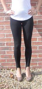 EXTRA LONG Leggings Viscose BLACK SIZE Uk 6 8 10 12 14 16 18 20 22 24 26 28 Tall