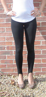 LONG LENGTH Leggings Viscose Stretch NAVY Size 6 8 10 12 14 16 18 20 22 24 S M L