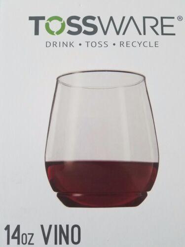 TOSSWARE 14oz Shatterproof Wine Glasses Set of 48-100/% BPA FREE