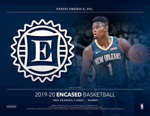 2020-Panini-Encased-Basketball-1-Hobby-Box-Break-Random-Team-Break-Free-Ship-Fri