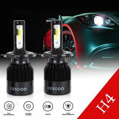 H4//9003//HB2 CREE LED Headlight Bulbs High//Lo Beam 3900W 6000K 570000LM HID Xenon