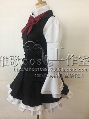Anonymous Noise Fukumenkei Noise Nino Arisugawa Nino Alice Dress Cosplay Costume