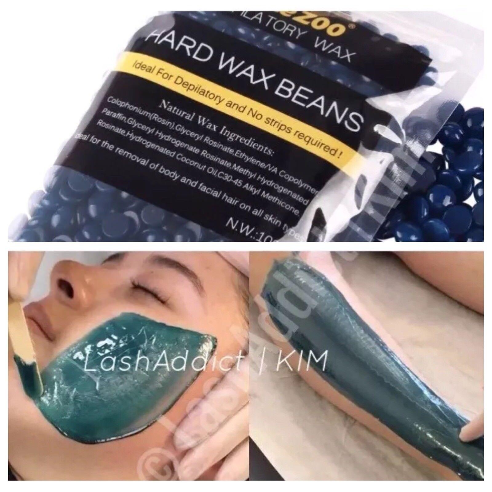 Wax Beans Hair Removal Hard Bikini Facial Arm Legs 300g 10oz 10pcs