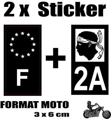 4 Autocollants 2 paires Stickers style Auto Black noir F ETOILES jaunes 2A