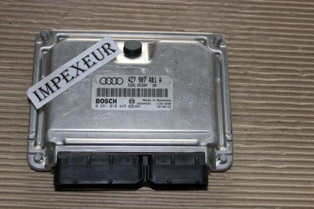Original Audi Motorsteuergerät ECU 4Z7907401A  0281010445