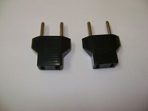 Details about 2 NEW 110 VOLT OUTLET TO 220 VOLT OUTLET TRAVEL POWER  ADAPTERS RWG-001 DR42