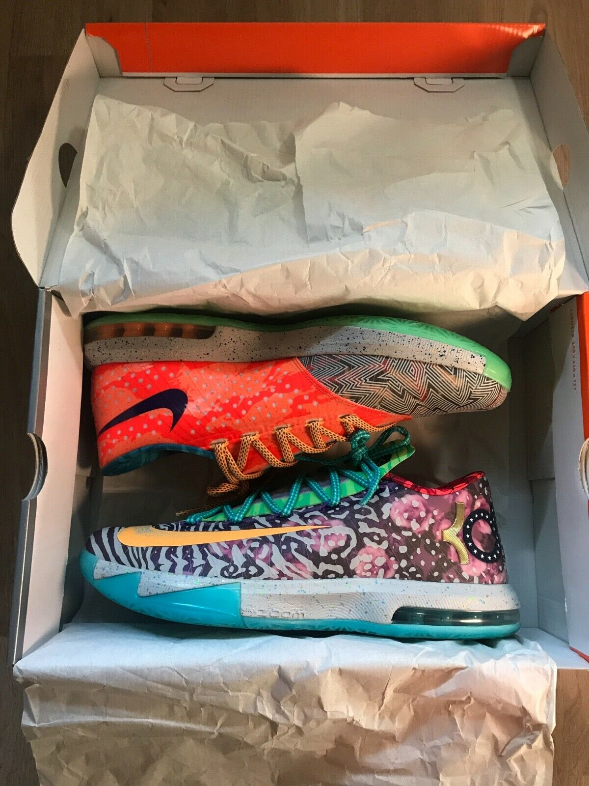 Nike kd 6 what the kd en 45 (US 11)