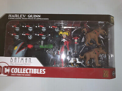 DC Comics Batman The Animated Series Harley Quinn Expressions Pack Action Figure