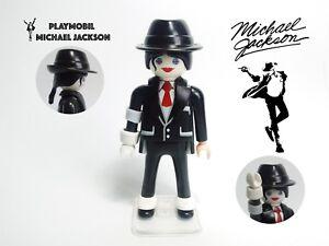 PLAYMOBIL Michael Jackson Exclusive Collector Figure 100% Playmobil Pieces