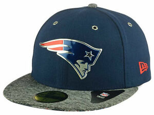 6eabd0f8918b5a Official 2016 NFL Draft New England Patriots New Era 59FIFTY On ...