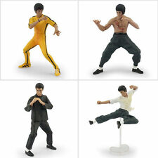 Bruce Lee Action Figures Dragon Enter Master Kung Fu Set 4PCS Hot Toys Scale New