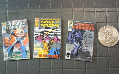 #5 et #80 Échelle 1//6 BD-Transformers Issues #1