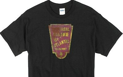 "Custom Weathered Railroad black T-shirts /""FREE SHIPPING/""  listing #4"