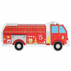 Jumbo Fire Engine 24 Piece Floor Puzzle 3 Foot Long Fire