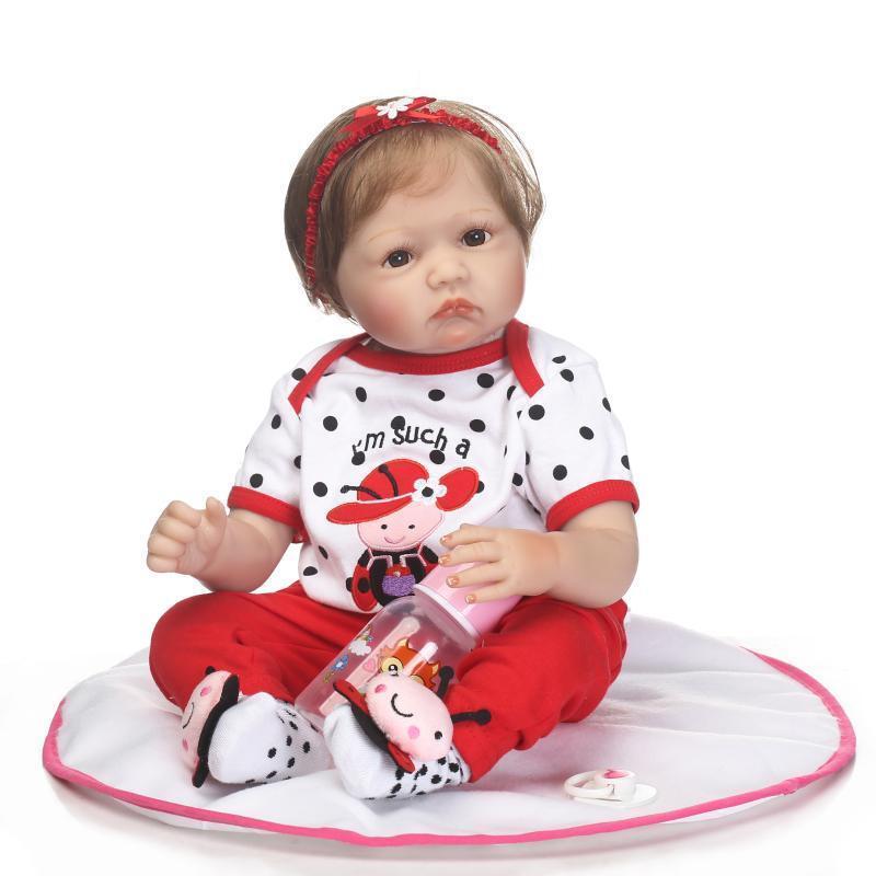 22  fatto a uomoo realistici BEBE RINATO aspetto  realistico Ragazza bambole bambino accompagnare  Nuova lista
