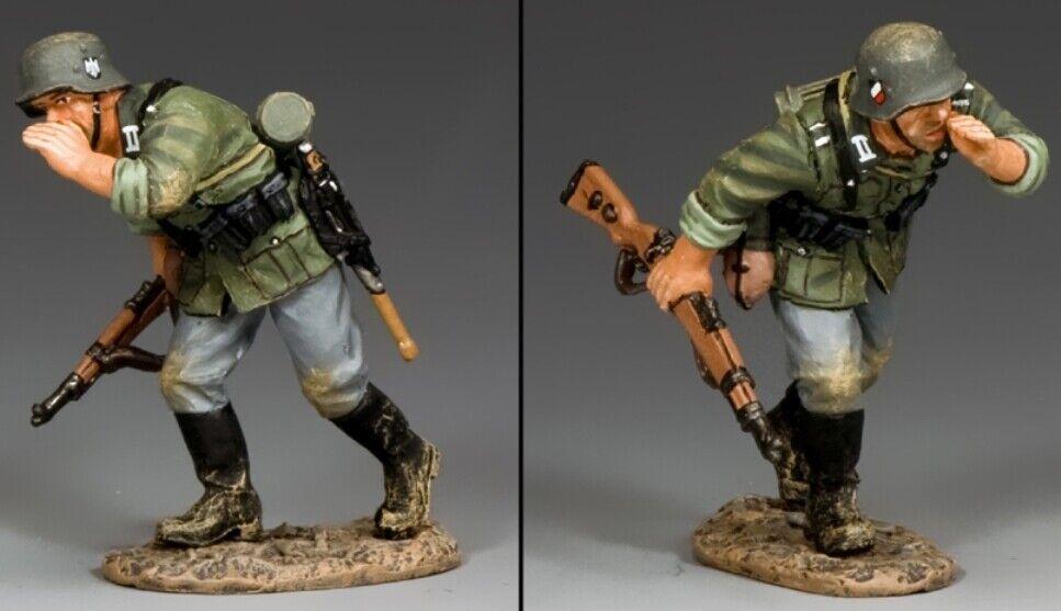 King & Land Ww2 Deutsche Armee Wh039 Ausführen & Shouting MIB