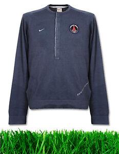 Authentique St Germain M Paris club tricoté de Psg Vintage de chandail football Nike LqA54R3j