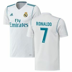 Details about adidas Real Madrid 2017 - 2018 C. Ronaldo  7 Home Soccer Jersey  CR7 Brand New 1c0135a9b