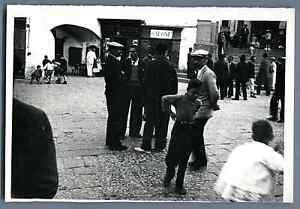 Italia-Capri-Scena-di-strada-Vintage-silver-print-Vintage-Italy-Tirage-a