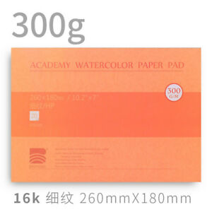 10-2x-7-034-Watercolor-Paper-Watercolor-Pad-Fine-Grain-Press-140lb-300gsm-New
