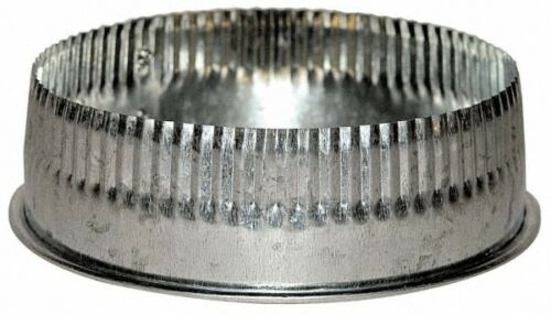 """30 Piece Made in USA 8/"""" ID Galvanized Duct Tee Cover with Crimp Standard Gage"""