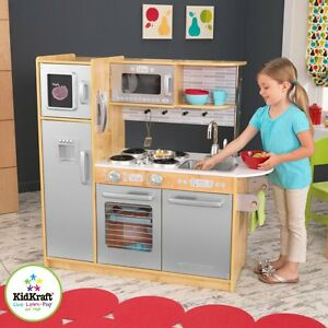 Genial Image Is Loading KidKraft Uptown Play Kitchen 53298 Natural