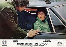 ANNIE GIRARDOT  ALAIN DELON TRAITEMENT DE CHOC 1973 PHOTO D'EXPLOITATION #4