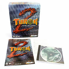 Turok 2: Seeds of Evil - PC CD-ROM - Big Box - VGC - CIB - VTG - Acclaim