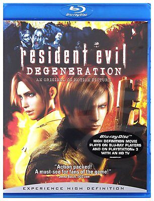 Resident Evil Degeneration Blu Ray Sealed Region Free For Uk