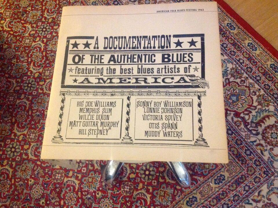 LP, Diverse, American folk blues festival