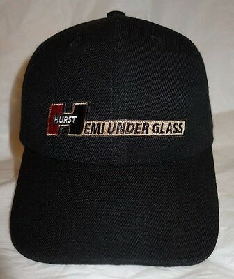 Hemi Under Glass Wheelstander Official Cap Hat NHRA Cuda Drag Race Hurst Mopar