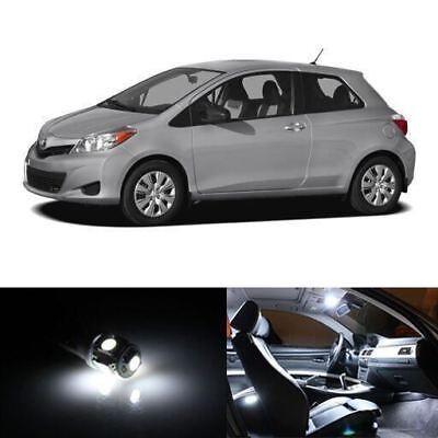 Fits 2016 Toyota Corolla Reverse White Interior LED Lights Package Kit 10x