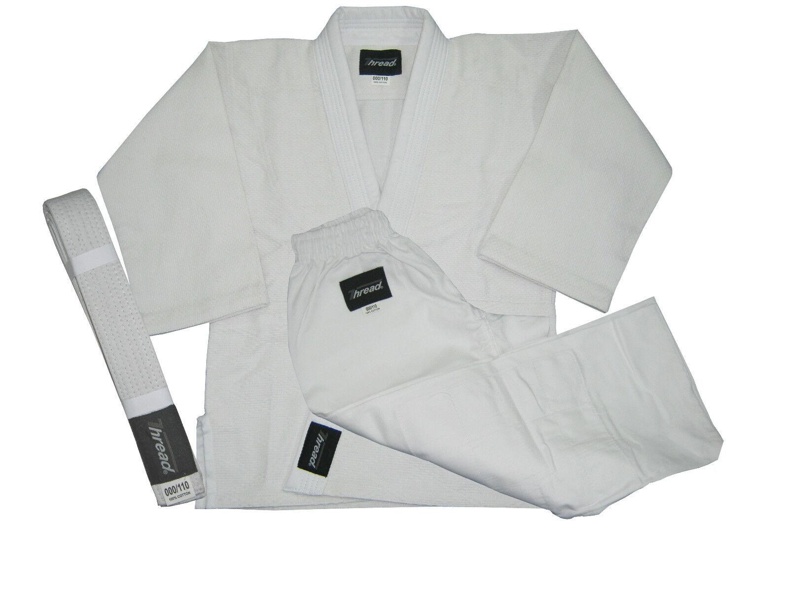 Brazilian Jiu-Jitsu, Judo,Aikido,Kimono Uniform Gi White Natural color  Thread(R)  brand