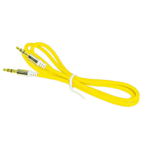 New 1M 3.5mm Male to Male Car Aux Auxiliary Cord Stereo Audio Cable for Phone aa