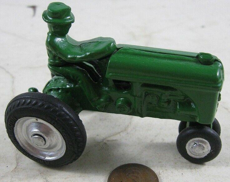 autentico en linea Vintage década de 1930 hierro fundido verde Ford Tractor Tractor Tractor Arcade neumático balón  descuento de ventas