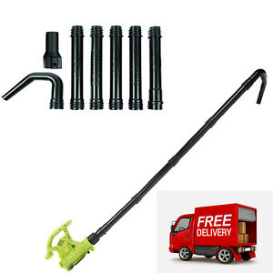 Universal Gutter Cleaning Blower Vaccum Attachment Kit