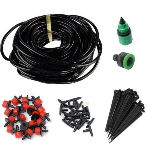Eau iggigation Kit Micro-Arrosage Système Automatique Plant Jardin 5//15//25M