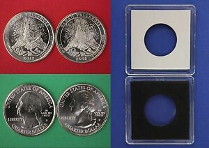 2005 D P Minnesota Quarters With 2x2 Cases From Mint Set Combined Shipping