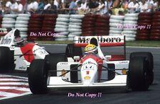 Ayrton Senna McLaren MP4/7A Canadian Grand Prix 1992 Photograph 1