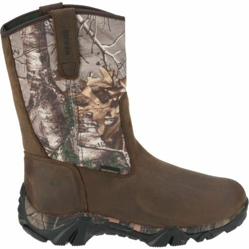 6d86b0ba202 Wolverine Coyote XTR Insulated Leather Hunting Boots Size 9-13 Brown Camo  W08053