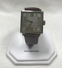 Vintage Original Authentic Elgin Swiss Langendorf Switzerland Tivoli Wrist Watch