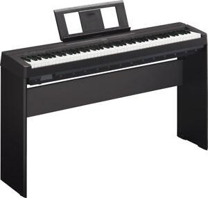 Yamaha-P-45B-P45b-Epiano-elektrisches-Klavier-stagepiano-incl-L85-Staender