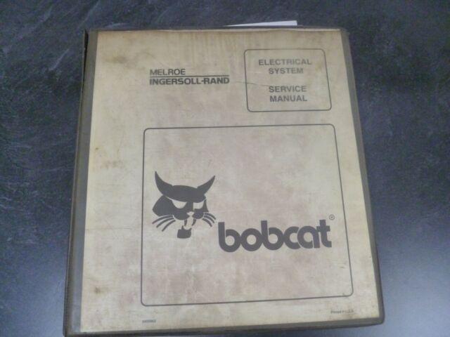 Bobcat 751g 753g Skid Steer Electrical Wiring Diagrams