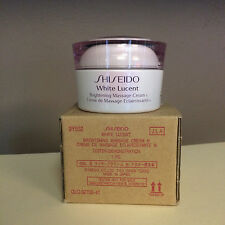 Shiseido White Lucent Brightening Massage Cream TESTER (FULL SIZE) - BRAND NEW!