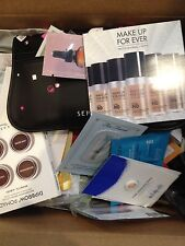 Lot of 20 Deluxe & Sample High End Beauty with New Ipsy or ULTA Makeup Bag
