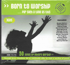BORN TO WORSHIP CD 50 SONGS OF MODERN WORSHIP 3 CD BOXSET NEW/SEALED