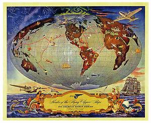 Pan-American-World-Airways-Boeing-314-Clipper-16-x20-Print