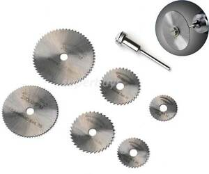 7pc circular saw mandrel cutting cutter disc blade dremel drill bit image is loading 7pc circular saw mandrel cutting cutter disc blade keyboard keysfo Gallery
