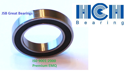 6307-2RS two side rubber seals bearing 6307-rs ball bearings 6307 rs Qty.2